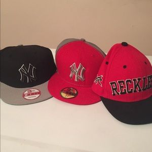 Authentic baseball caps